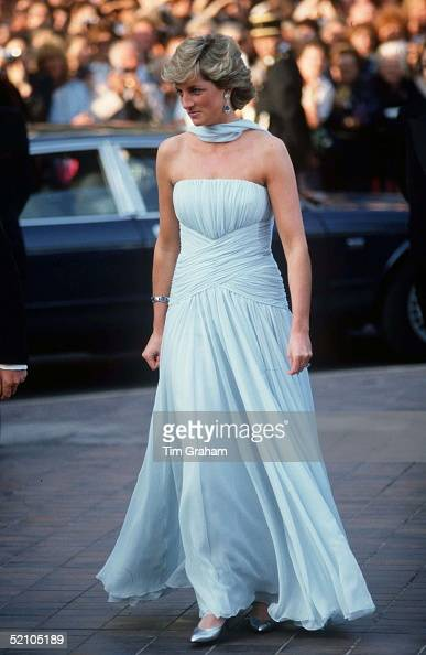 Princess Diana At The Cannes Film Festival France