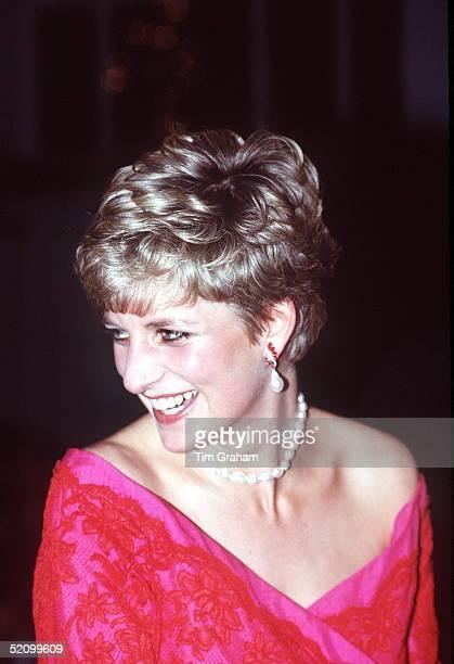 Princess Diana At The Royal Albert Hall In London