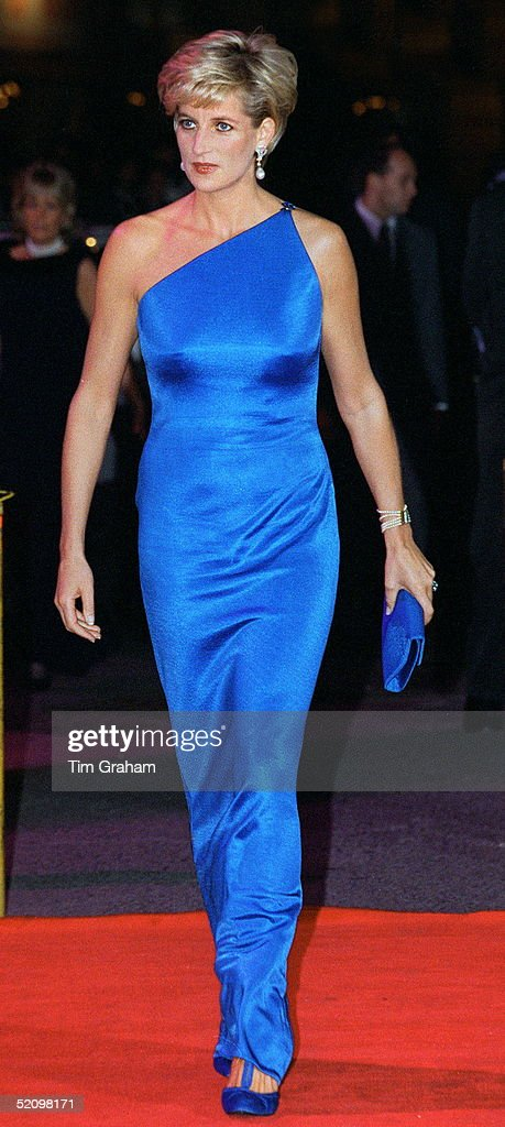 Princess Diana At The Victor Chang Cardiac Research Institute Dinner Dance At The Sydney Entertainment Centre, Sydney, Australia.