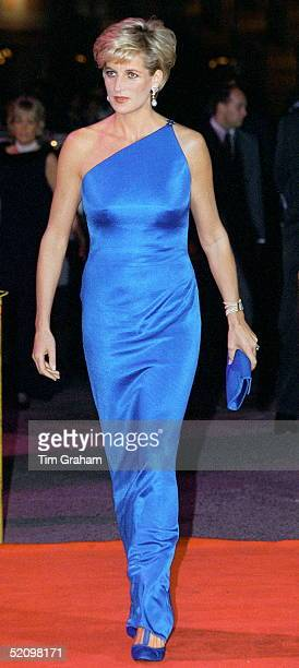 Princess Diana At The Victor Chang Cardiac Research Institute Dinner Dance At The Sydney Entertainment Centre Sydney Australia