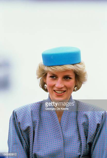 Princess Diana during a visit to Vancouver Canada