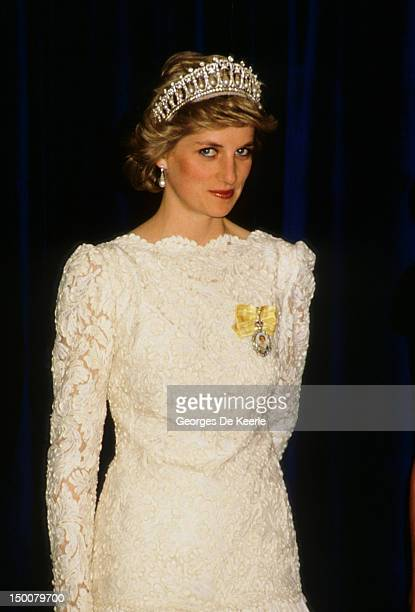 Princess Diana in Vancouver on May 3 1986