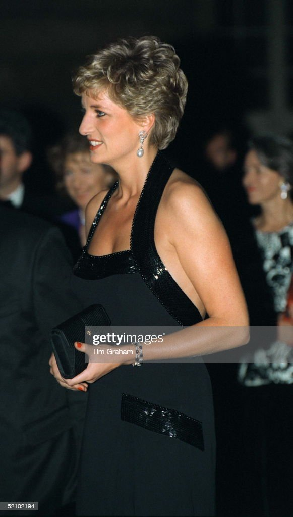 Princess Diana In Versailles, France