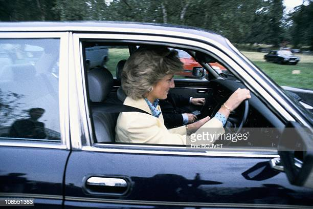 Princess Diana in Windsor United Kingdom on July 26th 1987