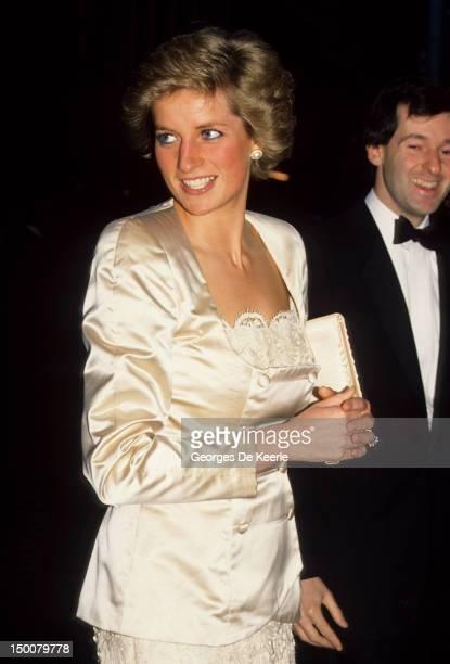 Princess Diana on August 1983 circa