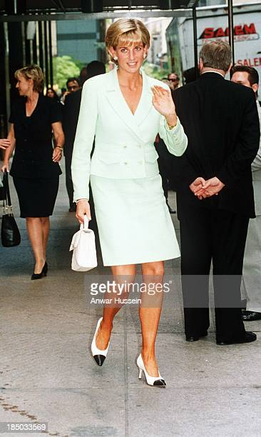 Princess Diana Princess of Wales goes shopping on June 23 1997 in New York USA