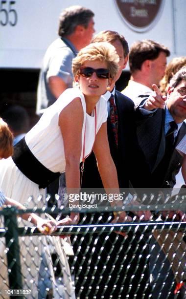 Princess Diana Silverstone British Grand Prix Princessdianaretro