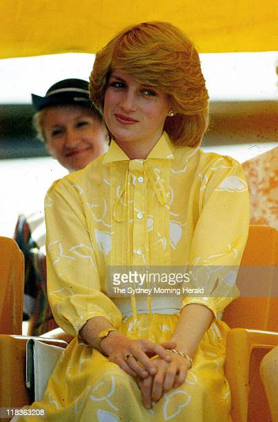 Princess Diana was visiting Alice Springs with Prince Charles Northern Territory 21 March 1983