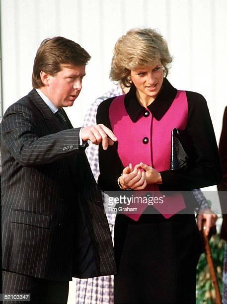 Princess Diana With Bodyguard Ken Wharfe