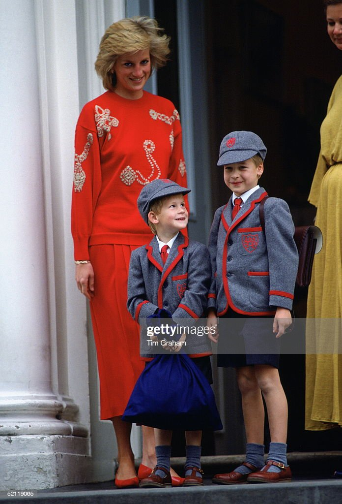 Prince William Early Family Pictures