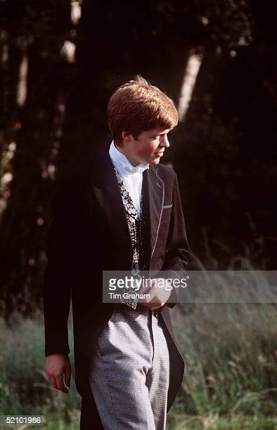 Princess Diana's Brother Viscount Charles Althorp Now Earl Spencer At Eton
