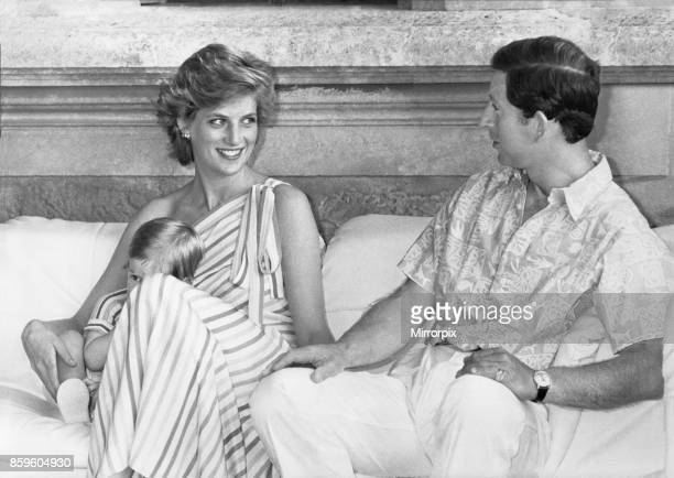 Princess DianaThe Princess of Wales and her husband Prince Charles The Prince of Wales on holiday in Palma Majorca They are the guests of King Juan...
