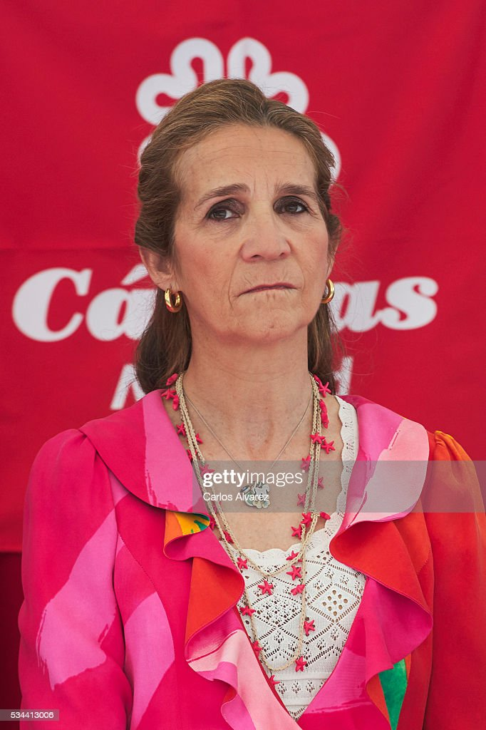 <a gi-track='captionPersonalityLinkClicked' href=/galleries/search?phrase=Princess+Elena+of+Spain&family=editorial&specificpeople=160235 ng-click='$event.stopPropagation()'>Princess Elena of Spain</a> attends 'Dia de la Caridad' on May 26, 2016 in Madrid, Spain.