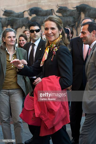 Princess Elena of Spain attends San Isidro Bullfight 2013 at Plaza de Toros de Las Ventas on May 22 2013 in Madrid Spain