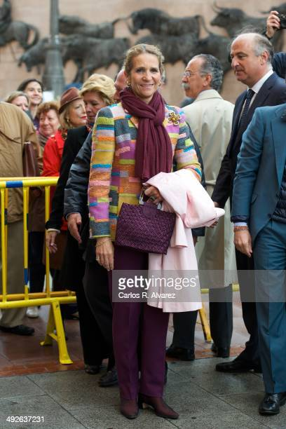 Princess Elena of Spain attends the 'Press Associaton' bullfight at the Las Ventas Bullring on May 21 2014 in Madrid Spain
