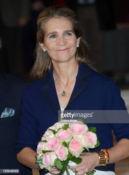 Princess Elena of Spain attends the Special Olympics Espana award ceremony at Casa de America on November 22 2011 in Madrid Spain