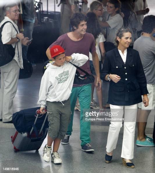 Princess Elena of Spain and Felipe Juan Froilan Sighting ... Felipe Juan Froilan