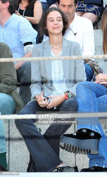 Princess Elena's daughter Victoria Federica Marichalar attends San Isidro Fair at Las Ventas Bullring at Las Ventas Bullring on May 29 2017 in Madrid...