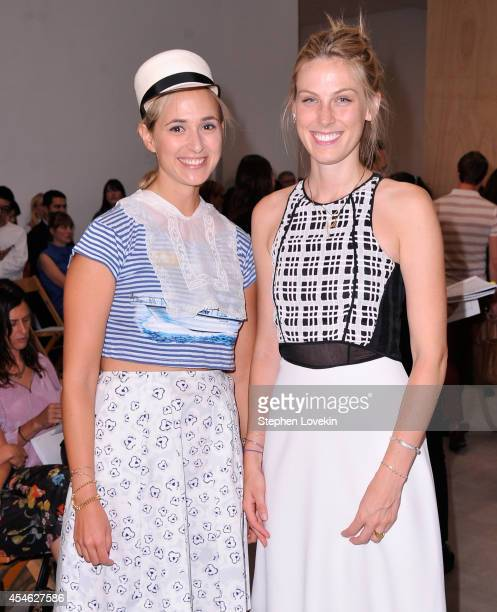 Princess Elisabeth von Thurn und Taxis and socialite Shelby Drummond attend The Creatures Of The Wind runway show during MercedesBenz Fashion Week...