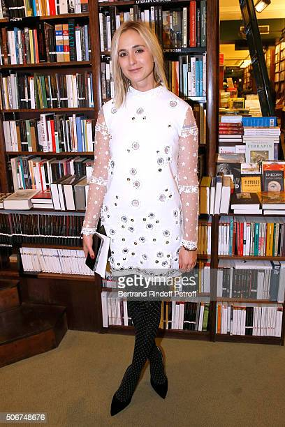 Princess Elisabeth von Thurn und Taxis attends Princess Gloria Von Thurn und Taxis signs her Book 'The House of Thurn und Taxis' Held at Librairie...