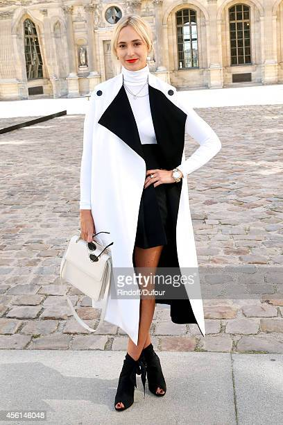 Princess Elisabeth von Thurn und Taxis attends the Christian Dior show as part of the Paris Fashion Week Womenswear Spring/Summer 2015 on September...