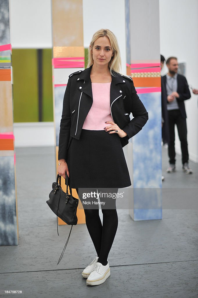 Princess <a gi-track='captionPersonalityLinkClicked' href=/galleries/search?phrase=Elisabeth+von+Thurn+und+Taxis&family=editorial&specificpeople=4378126 ng-click='$event.stopPropagation()'>Elisabeth von Thurn und Taxis</a> attends the private view for Frieze at on October 16, 2013 in London, England.