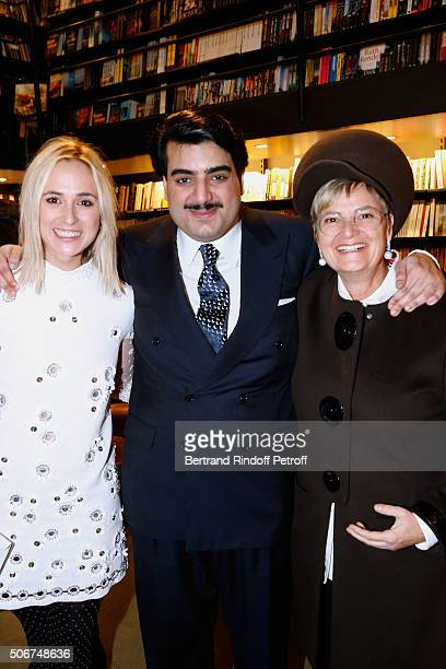 Princess Elisabeth von Thurn und Taxis Cheik Hamad Al Thani and her mother Princess Gloria Von Thurn und Taxis attend Princess Gloria Von Thurn und...