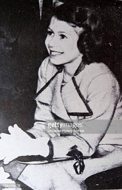 Princess Elizabeth aged 11 in 1937