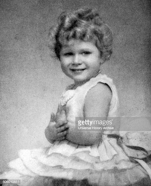 Princess Elizabeth aged 3 or 4 Later Elizabeth II constitutional monarch of 16 sovereign states known as the Commonwealth realms and their...