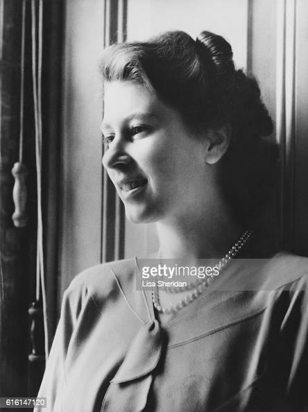 Princess Elizabeth at Buckingham Palace London July 1946