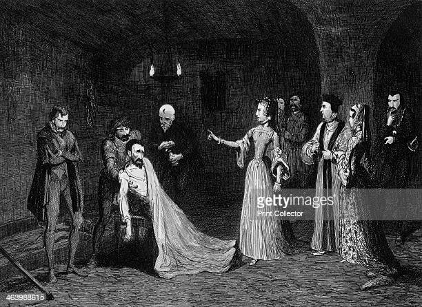 Princess Elizabeth confronted with Sir Thomas Wyatt in the torture chamber 1554 Wyatt was involved in the failed attempt organised by the Duke of...