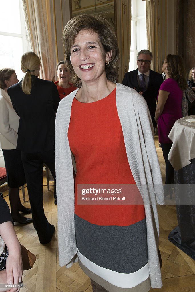 Princess Esmeralda of Belgium attends an award giving ceremony for French journalist and author Stephane Bern at Palais d'Egmont on March 7, 2013 in Brussels, Belgium.