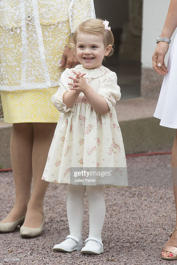 <a gi-track='captionPersonalityLinkClicked' href=/galleries/search?phrase=Princess+Estelle&family=editorial&specificpeople=8948207 ng-click='$event.stopPropagation()'>Princess Estelle</a> of Sweden attends the 37th Birthday celebrations of her mother Crown Princess Victoria of Sweden,at Solliden, Borgholm on July 14, 2014 in Oland, Sweden.