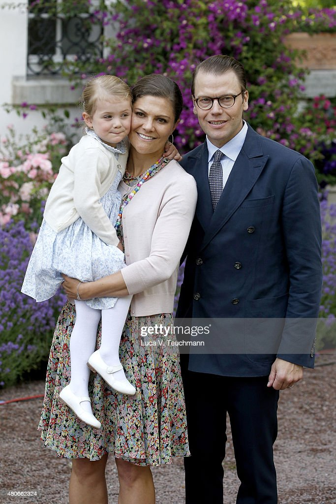 <a gi-track='captionPersonalityLinkClicked' href=/galleries/search?phrase=Princess+Estelle&family=editorial&specificpeople=8948207 ng-click='$event.stopPropagation()'>Princess Estelle</a> of Sweden; <a gi-track='captionPersonalityLinkClicked' href=/galleries/search?phrase=Crown+Princess+Victoria+of+Sweden&family=editorial&specificpeople=160266 ng-click='$event.stopPropagation()'>Crown Princess Victoria of Sweden</a> and Prince Daniel of Sweden attend the 38th Birthday celebrations of <a gi-track='captionPersonalityLinkClicked' href=/galleries/search?phrase=Crown+Princess+Victoria+of+Sweden&family=editorial&specificpeople=160266 ng-click='$event.stopPropagation()'>Crown Princess Victoria of Sweden</a> on July 14, 2015 in Oland, Sweden.