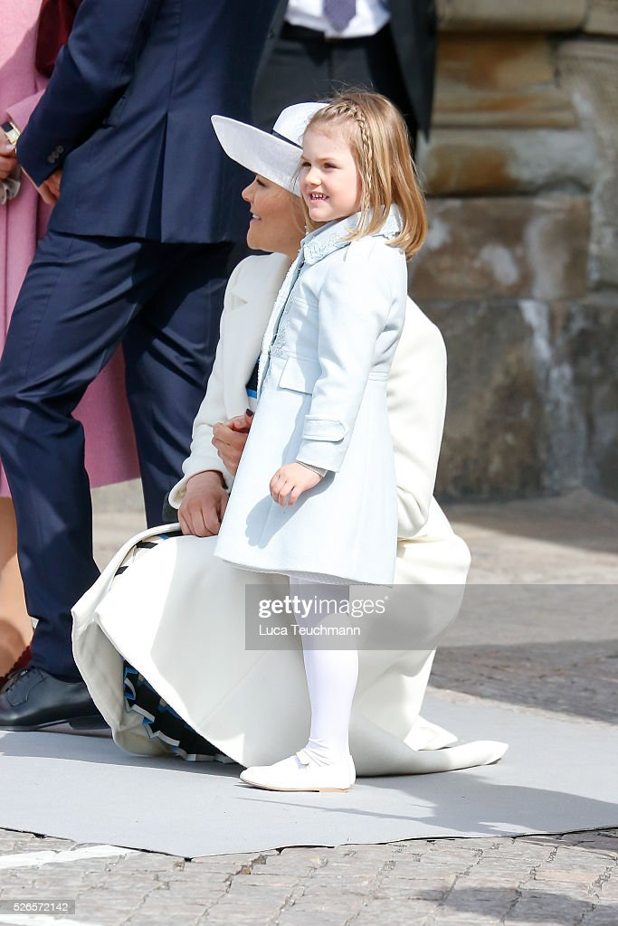 <a gi-track='captionPersonalityLinkClicked' href=/galleries/search?phrase=Princess+Estelle&family=editorial&specificpeople=8948207 ng-click='$event.stopPropagation()'>Princess Estelle</a> of Sweden is seen at the celebrations of the Swedish Armed Forces for the 70th birthday of King Carl Gustaf of Sweden on April 30, 2016 in Stockholm, .