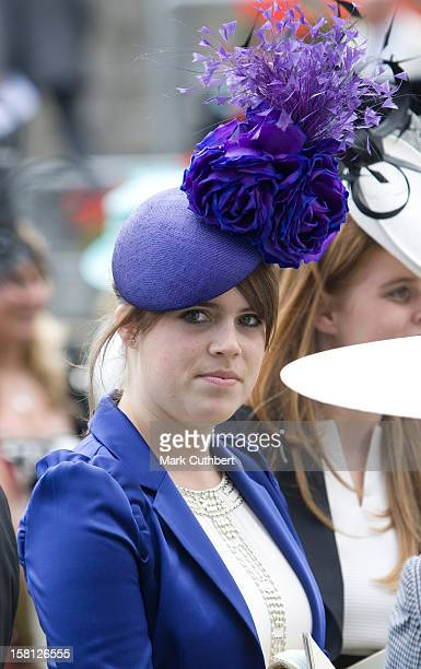 Princess Eugene Attending The First Day At Ascot Racecourse Berkshire