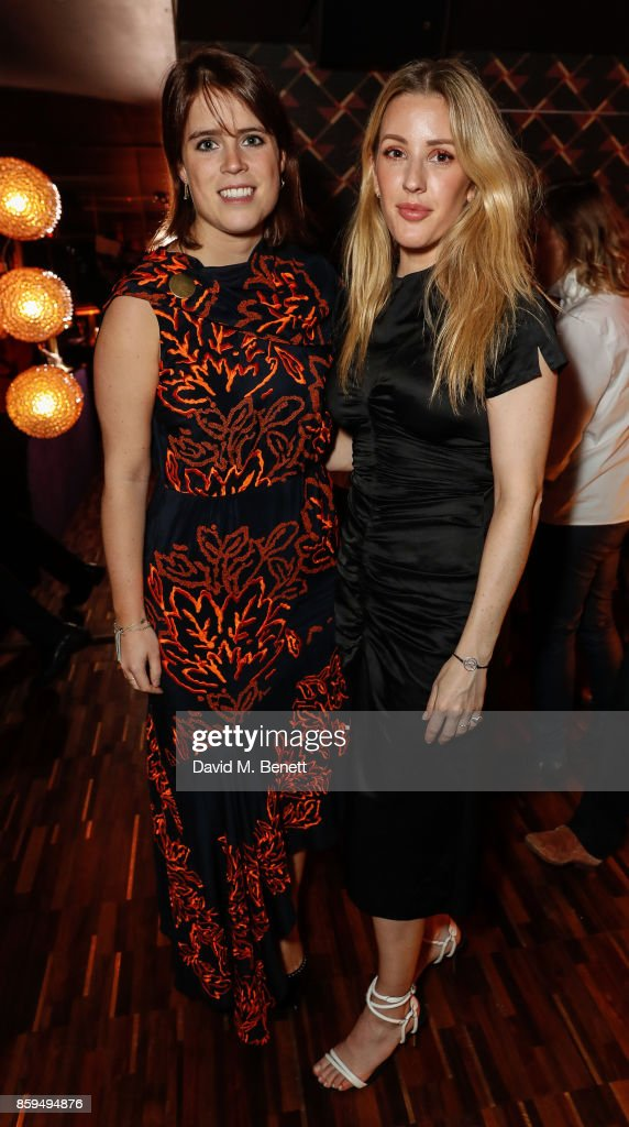 Princess Eugenie and Ellie Goulding attend during Leo's At The Arts Club - Launch Party on October 9, 2017 in London, England.