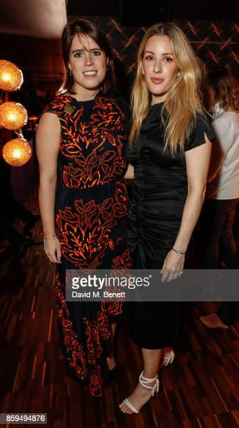 Princess Eugenie and Ellie Goulding attend during Leo's At The Arts Club Launch Party on October 9 2017 in London England