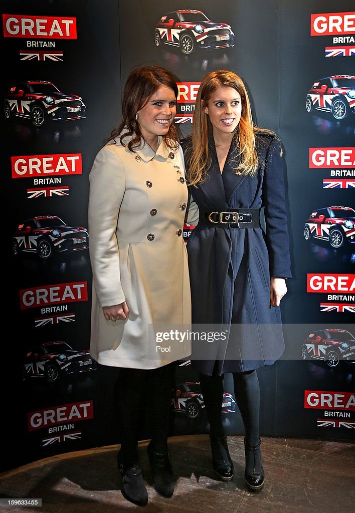 <a gi-track='captionPersonalityLinkClicked' href=/galleries/search?phrase=Princess+Eugenie&family=editorial&specificpeople=160237 ng-click='$event.stopPropagation()'>Princess Eugenie</a> and Princess Beatrice of York visit a fashion trade show on January 17, 2013 in Berlin, Germany. The royal sisters are in Berlin to support the government's GREAT initiative promoting the UK abroad. They will visit Hanover tommorow as part of this two day trip funded by their father the Duke of York