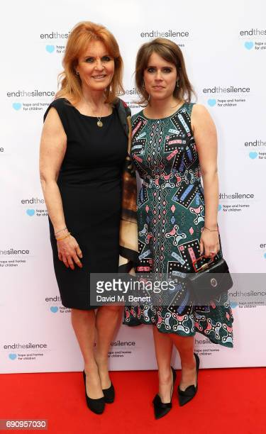 Princess Eugenie and Sarah Ferguson Duchess of York attend the 50th anniversary of The Beatles SGT Pepper Album at Abbey Road Studios for End The...