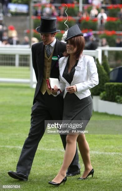 Princess Eugenie at Ascot Racecourse Berkshire
