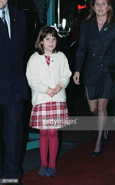 Princess Eugenie At The Premiere Of The Film ' Iron Giant ' To Raise Funds For The Nspcc National Society For Prevention Of Cruelty To Children
