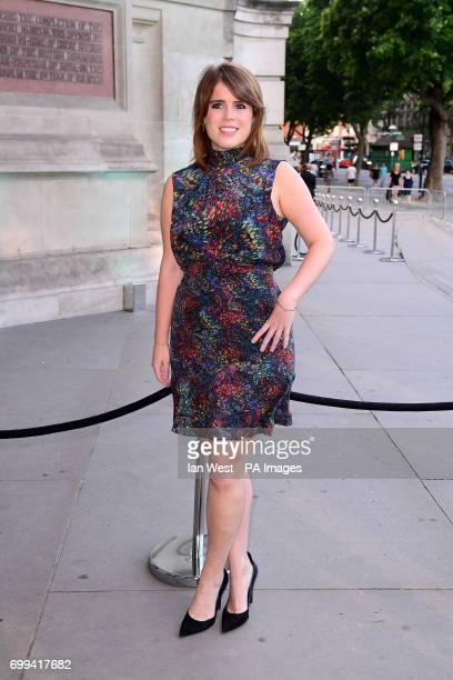 Princess Eugenie attending the V and A Summer Party held at the Victoria Albert Museum London Photo by Ian West/PA WireURN31777901