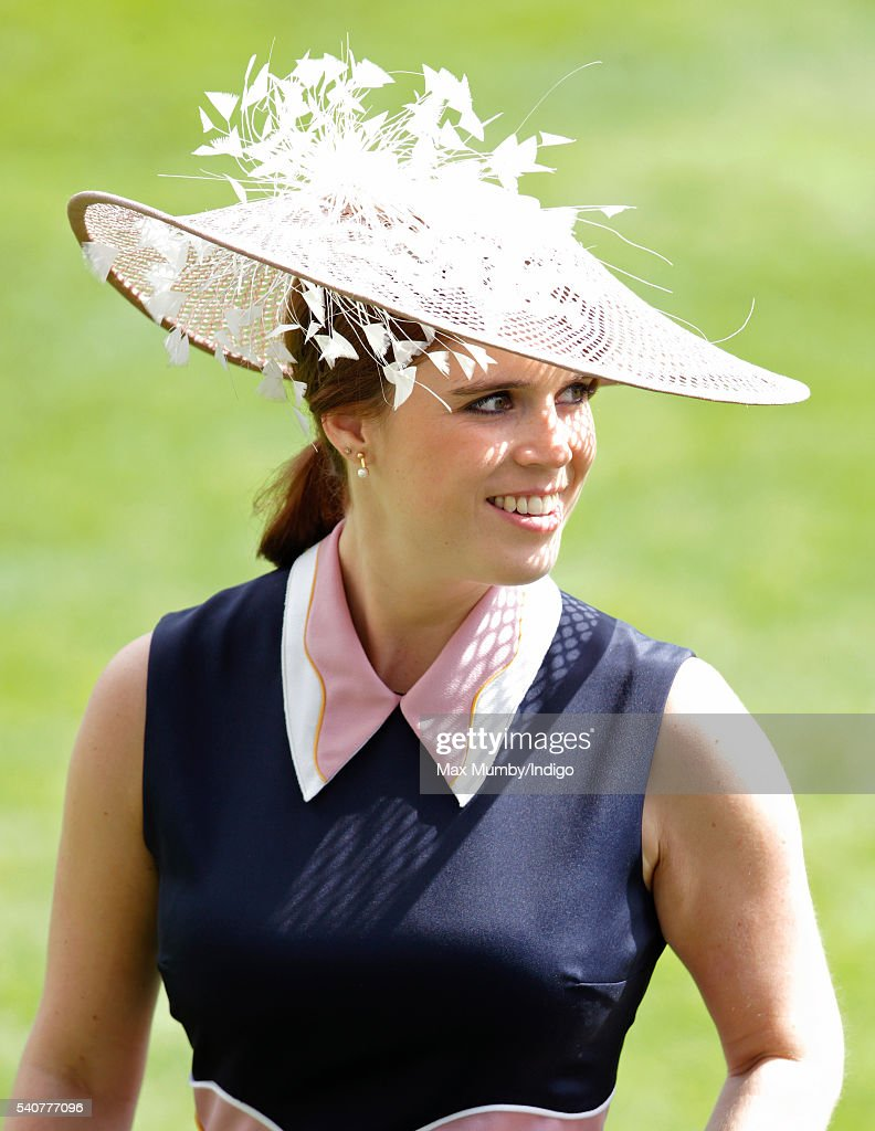 Princess Eugenie attends day 3 'Ladies Day' of Royal Ascot at Ascot Racecourse on June 16, 2016 in Ascot, England.