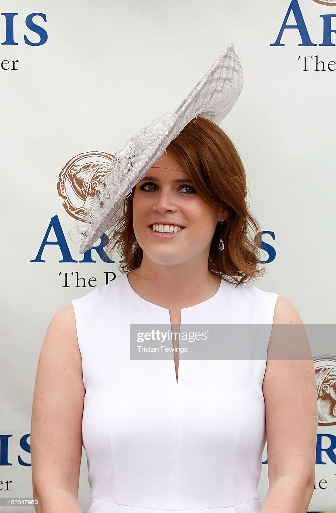 Princess Eugenie attends day three of the Qatar Goodwood Festival at Goodwood Racecourse on July 30, 2015 in Chichester, England.