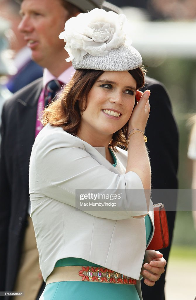 <a gi-track='captionPersonalityLinkClicked' href=/galleries/search?phrase=Princess+Eugenie&family=editorial&specificpeople=160237 ng-click='$event.stopPropagation()'>Princess Eugenie</a> attends Ladies Day of Royal Ascot at Ascot Racecourse on June 20, 2013 in Ascot, England.