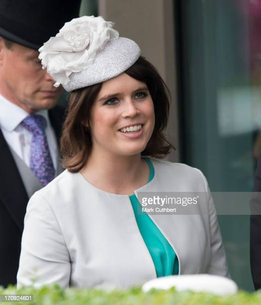 Princess Eugenie attends Ladies Day on Day 3 of Royal Ascot at Ascot Racecourse on June 20 2013 in Ascot England
