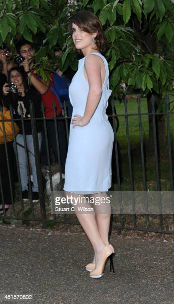 Princess Eugenie attends the annual Serpentine Galley Summer Party at The Serpentine Gallery on July 1 2014 in London England