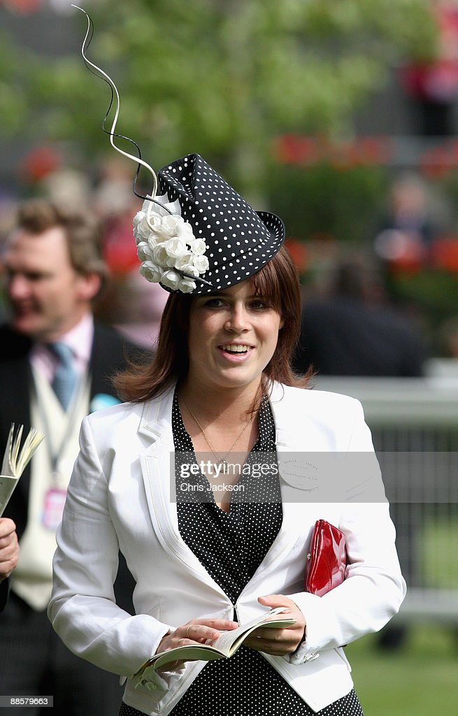 Princess Eugenie looks at horses in the parade ring on the fourth day of Royal Ascot 2009 at Ascot Racecourse on June 19, 2009 in Ascot, England.