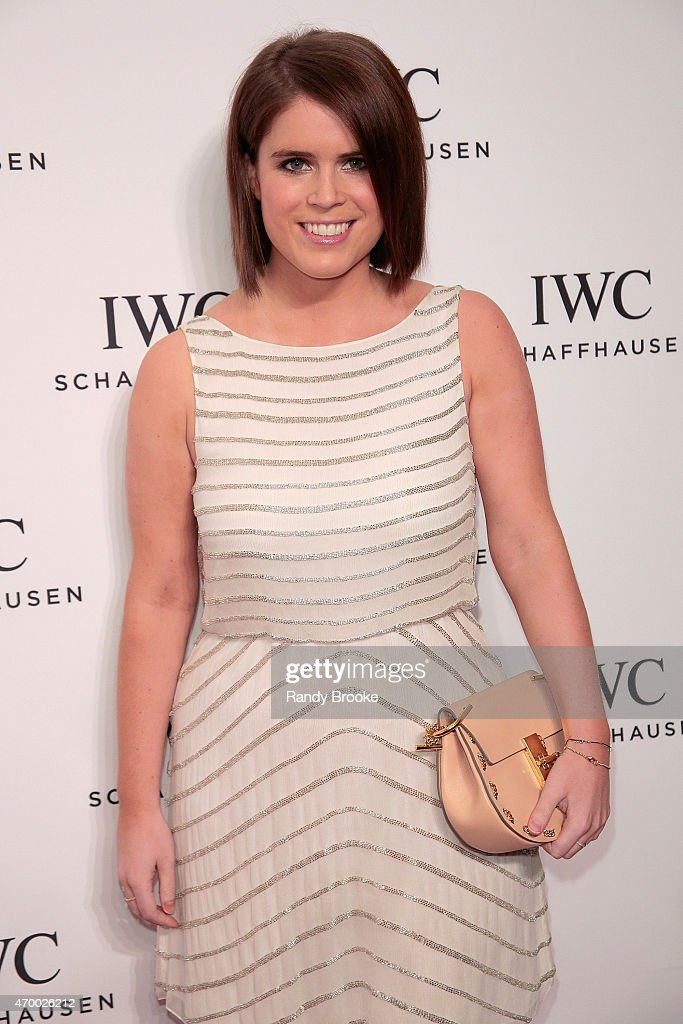 Princess Eugenie of the British Royal Family attends the IWC Schaffhausen third annual 'For the Love of Cinema' dinner during Tribeca Film Festival at Spring Studios on April 16, 2015 in New York City.